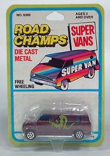 HC Road Champs 1970's 1980's Dragon Serpent Ford Econoline Van Super Vans Wheel