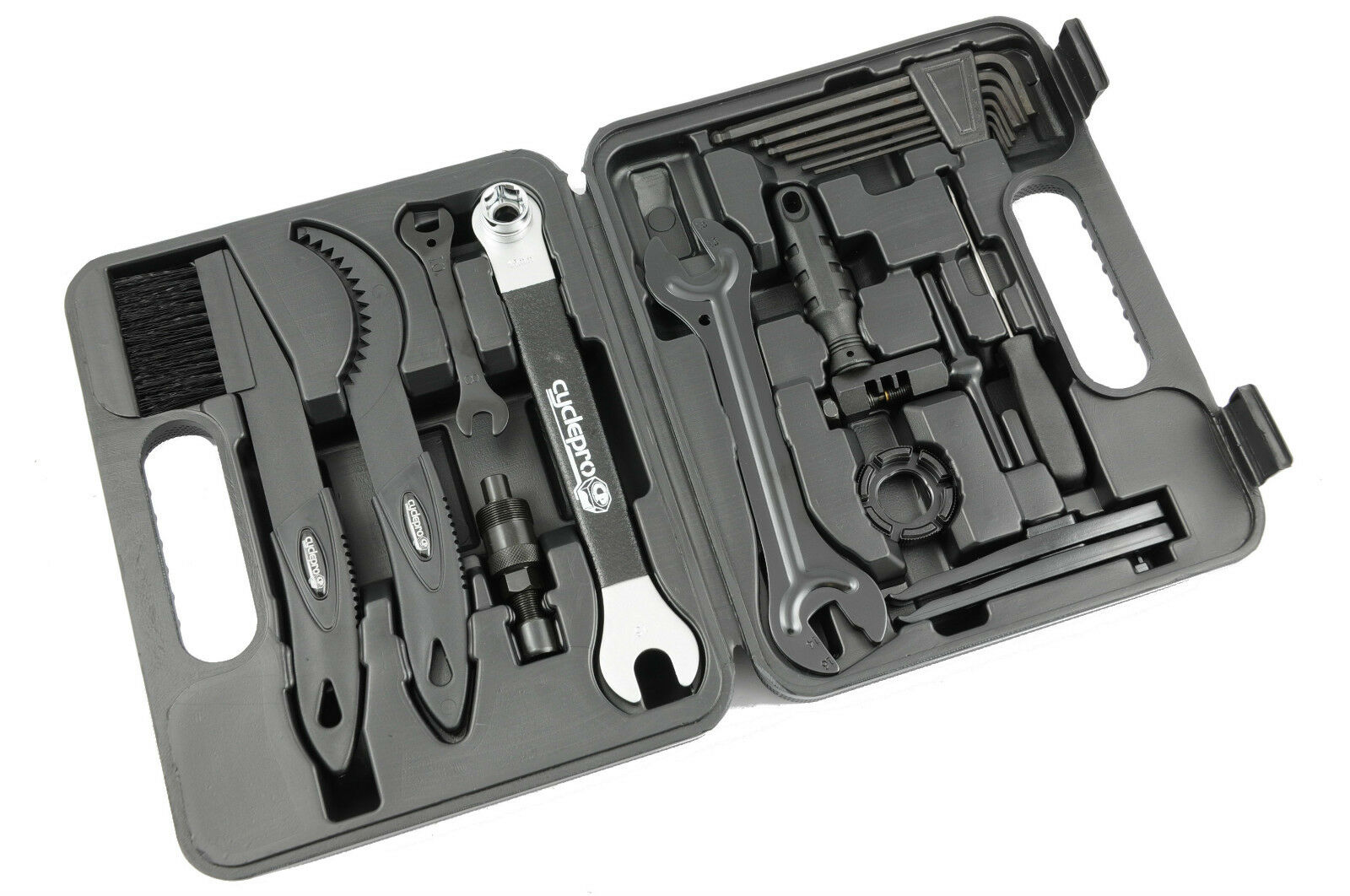 CYCLEPRO 19  PIECE CYCLE TOOL KIT FOR BIKE ENTHUSIASTS & MECHANICS  off  big discount
