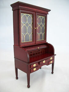GEORGE-WASHINGTON-DESK-dollhouse-furniture-wood-T3474-1-12-scale