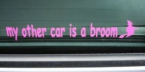 My-Other-Car-is-a-Broom-Funny-Harry-Potter-Wizard-Witch-Joke-Mini-VW-Ford-Fiat
