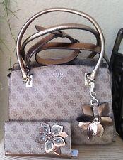 e6bd5e0d92 item 1 NWT Guess SIBYL Girlfriend Satchel Handbag + Wallet Set Color Brown  Authentic -NWT Guess SIBYL Girlfriend Satchel Handbag + Wallet Set Color  Brown ...