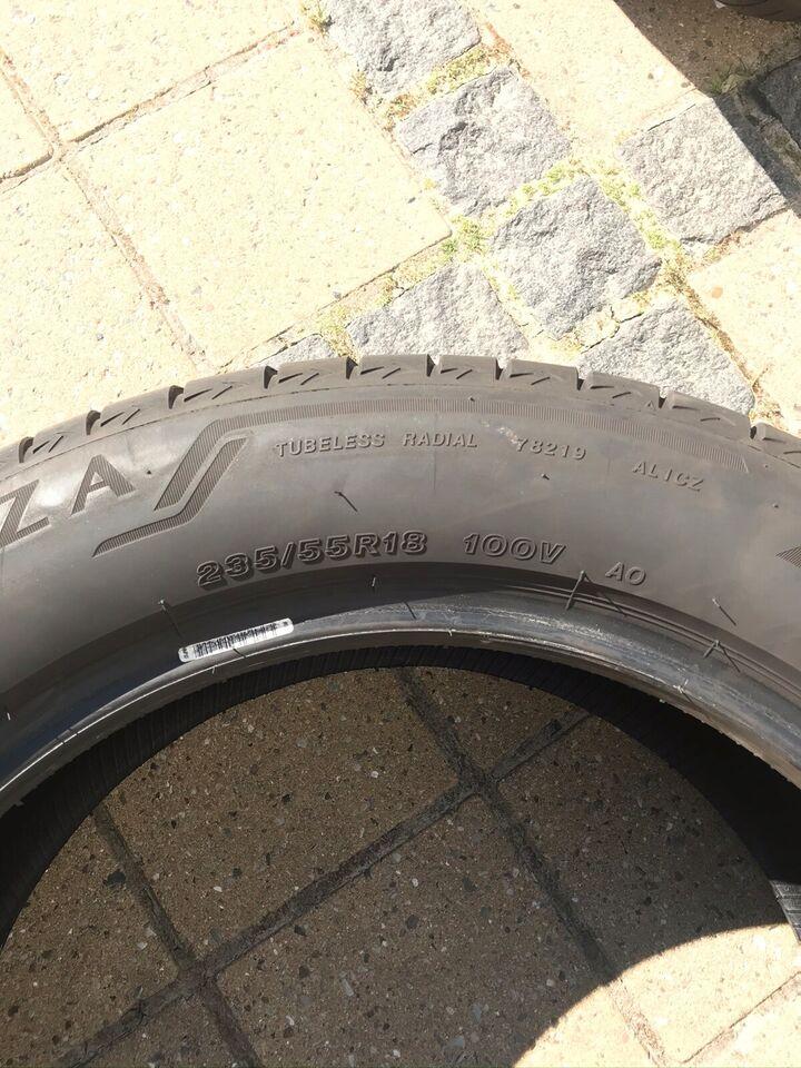 Sommerdæk Bridgestone 235/55/18