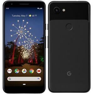 Google-Pixel-3a-64GB-Smartphone-Neu-vom-Haendler-OHNE-SIMLOCK-Schwarz-Black