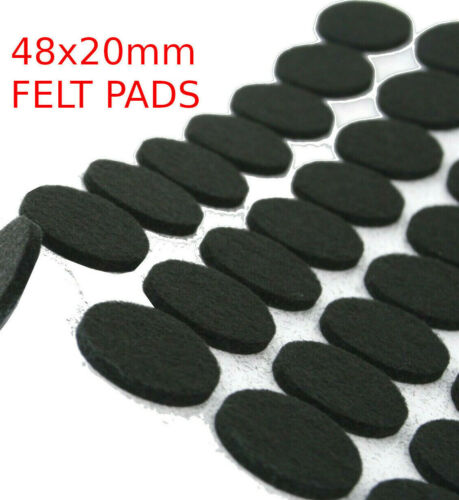 FELT PADS 20mm DIAMETER SELF-ADHESIVE FURNITURE WOOD FLOOR ANTI SCRATCH PROTECT