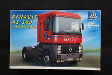 XW072 ITALERI 1/24 maquette camion 723 Renault AE 500 Magnum 1992 - Ptitoys