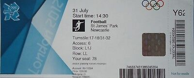 Qualified Ticket Olympics 31/7/2012 Women's Fussball Canada Vs Sweden Y62 Strong Packing Olympic Memorabilia Sports Memorabilia