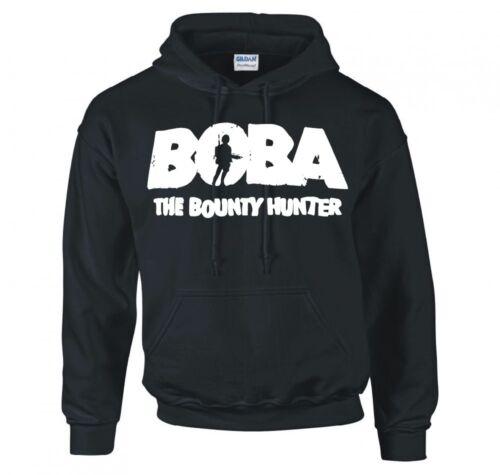 "STAR WARS /""BOBA THE BOUNTY HUNTER/"" HOODIE NEW"