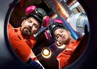 BREAKING BAD Heisenberg Walter White Wall Art Print Pic Photo Poster A3 A4