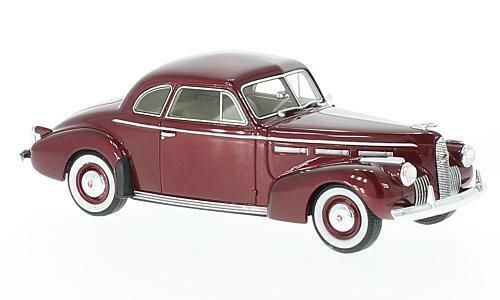 LaSalle Series 50 Coupé  rouge Metallic  1940 (Neo Scale 1 43   4717147171)