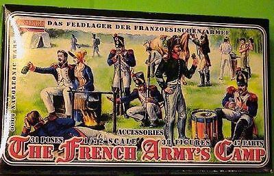 1/72 Napoleone Campo Francese Strelets Francia French Army's Camp Per Vincere Una Grande Ammirazione