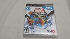 Marvel Super Hero Squad Comic Combat~PS3~U-Draw *Requires U-Draw Tablet*  EUC