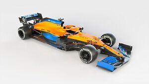 2020-McLaren-MCL35-Auto-Car-Art-Silk-Wall-Poster-Print-24x36-034