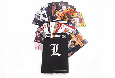 Anime Death Note LAWLIET L·Lawliet Playing Card Deck Poker Toy New