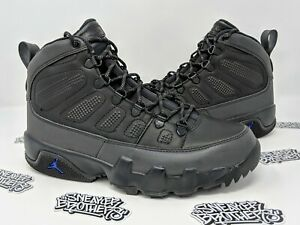 release date lace up in best sale Nike Air Jordan Retro IX 9 NRG Boot Black Concord Purple AR4491 ...