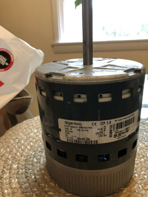 GENTEQ 5sme39hx l3057 1/2 HP 3.0 ECM 120/240V Motor HD44RE124 USED