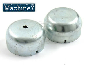 Classic VW Beetle Wheel Bearing Spindle Hub Nut Kit Pinch Bolt Bug Ghia Pair