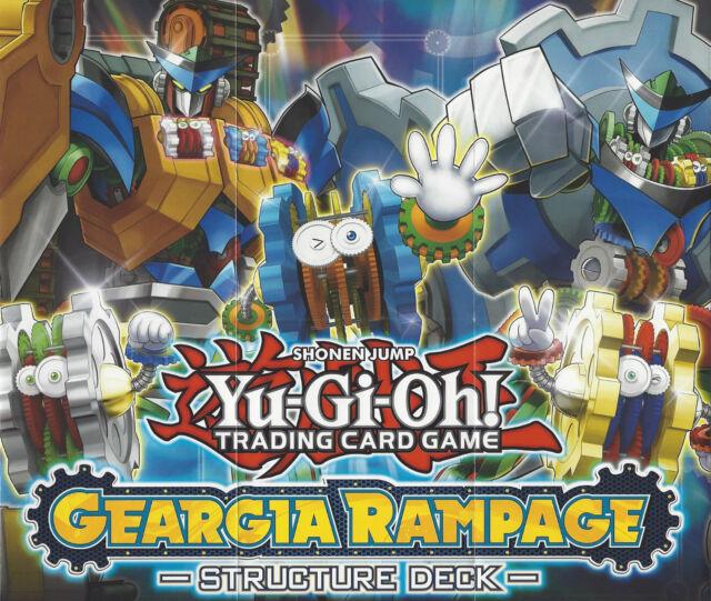 Geargia Rampage Structure Deck Deutsch Neu /& OVP Yu-Gi-Oh