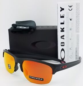 3509bbea61 NEW Oakley Sliver Edge sunglasses Matte Black Prizm Ruby AUTHENTIC ...