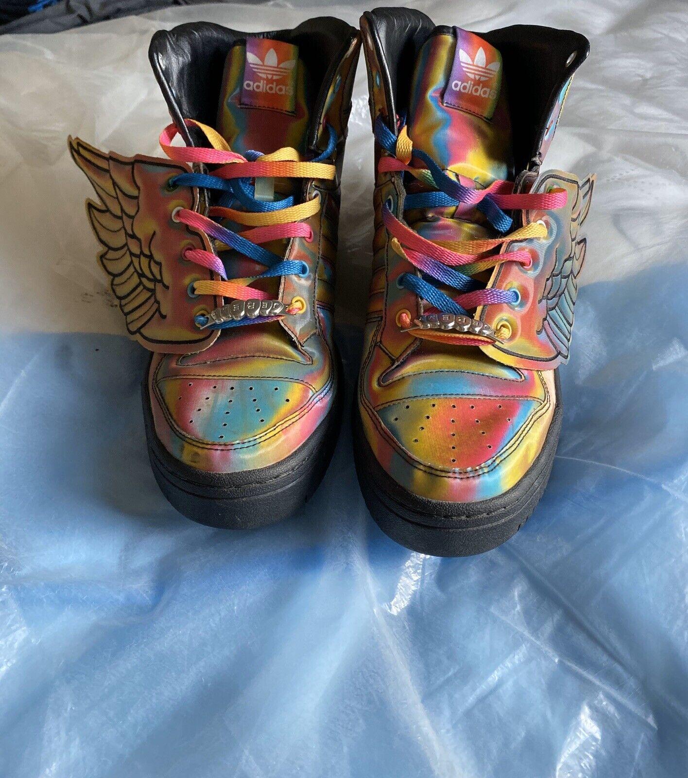adidas jeremy scott wings Hologram Men's Size 11.5 G16054