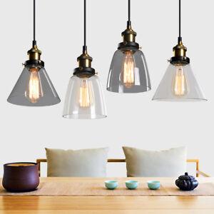 Image Is Loading Modern Gl Pendant Lighting Dining Loft Lamp Ceiling