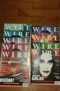 WIRE-MAGAZINE-BACK-ISSUES-190-199-3-99-Each-Free-Postage-You-Choose