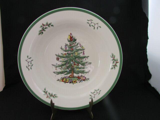 "Spode England Christmas Tree Serving 11.1/2"" FRUIT CENTER PIECE BOWL LARGE SIZE   eBay"