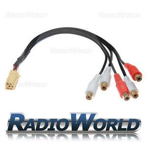 Blaupunkt-Rca-Pre-Out-Cable-Adaptador-7-607-893-093-Cable