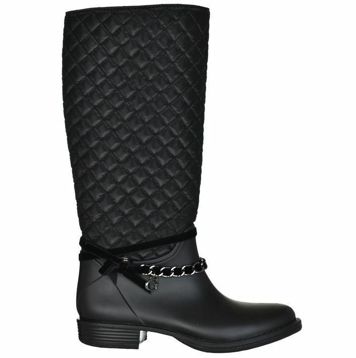 GUESS chaussures femmes bottes Pluie bottes bottes en Caoutchouc Ralan noir T 35 - 41