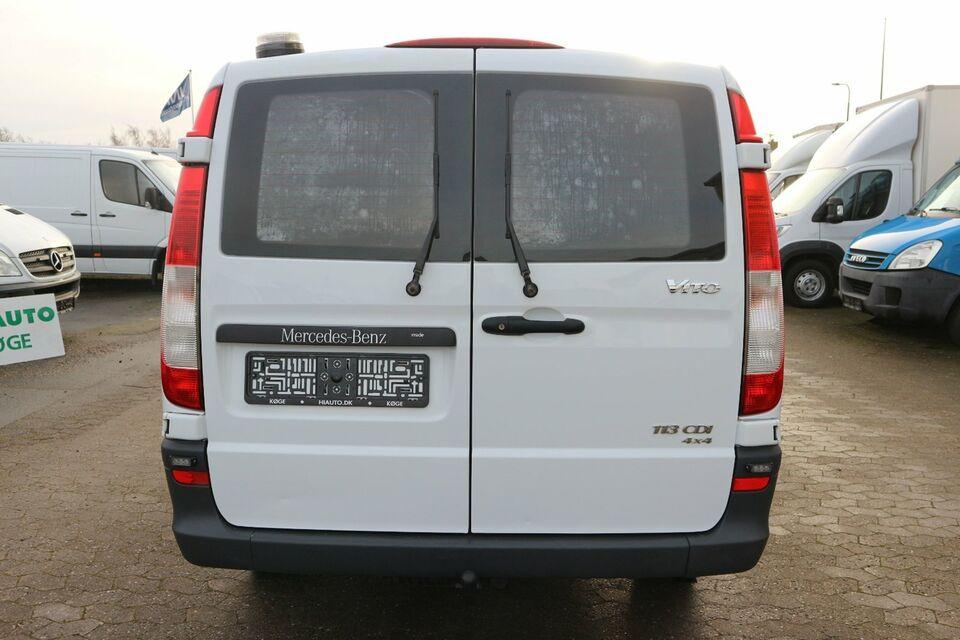 Mercedes Vito 113 2,2 CDi Standard L aut. 4x4 Diesel aut.