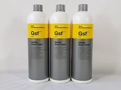 koch chemie gentle snow foam 3 x 1 liter ebay. Black Bedroom Furniture Sets. Home Design Ideas