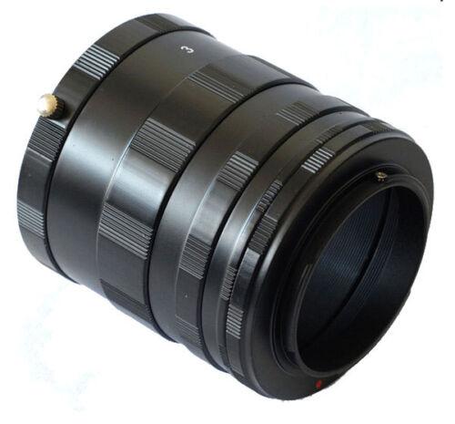 Nuevo Anillo de tubo de extensión macro para NIKON D7200 D7100 D5300 D3300 D90 D800 Cámara