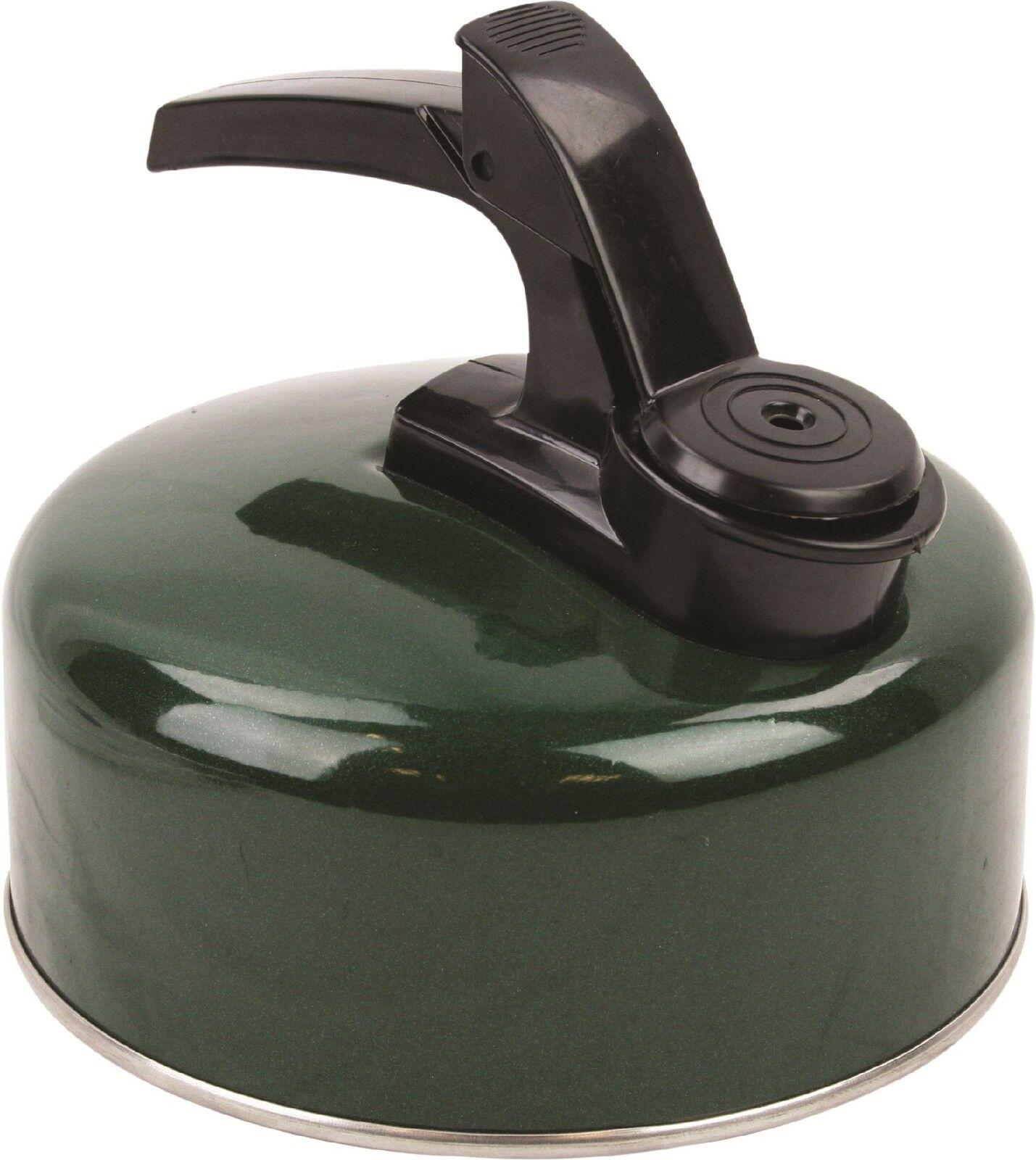 Nouveau léger 1 litre Aluminium sifflement bouilloire Camping Pêche Pêche Pêche bouillir rapide 0c7fe8