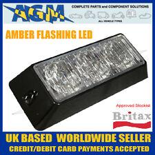 BRITAX L55 3 LED Strobe / Beacon Surface Mounting Lamp Amber Flashing Light Head