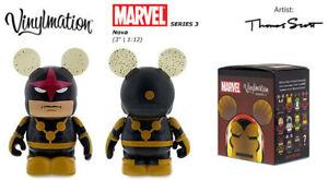 Vinylmation Disney Marvel Séries 3 Nova Neuf Avec Ouvert Boîte Papier Alu