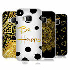 OFFICIAL HAROULITA BLACK AND GOLD SOFT GEL CASE FOR HTC PHONES 1