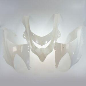 Kawasaki-ZX-10R-Ninja-2004-2005-Nose-Cone-Fairing-Kit-3-Pieces-Unpainted