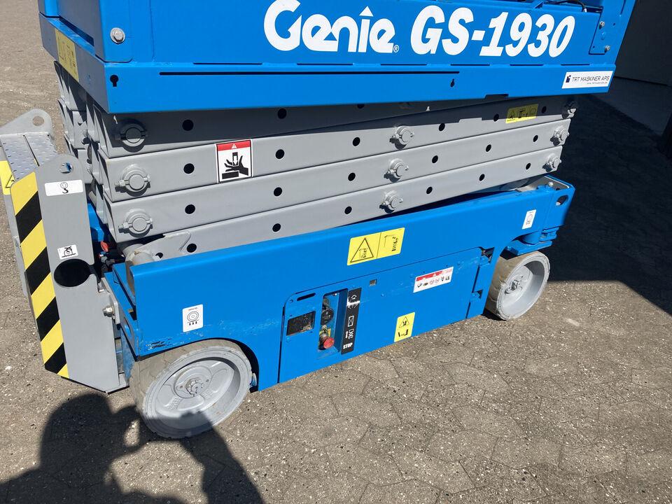 Genie GS1930 Sakselift 8m arbejdshøjde TRTM-Upc...