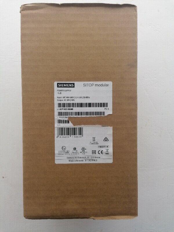 Siemens Sitop modular 40 A Stabilized power supply 6EP1437-3BA00