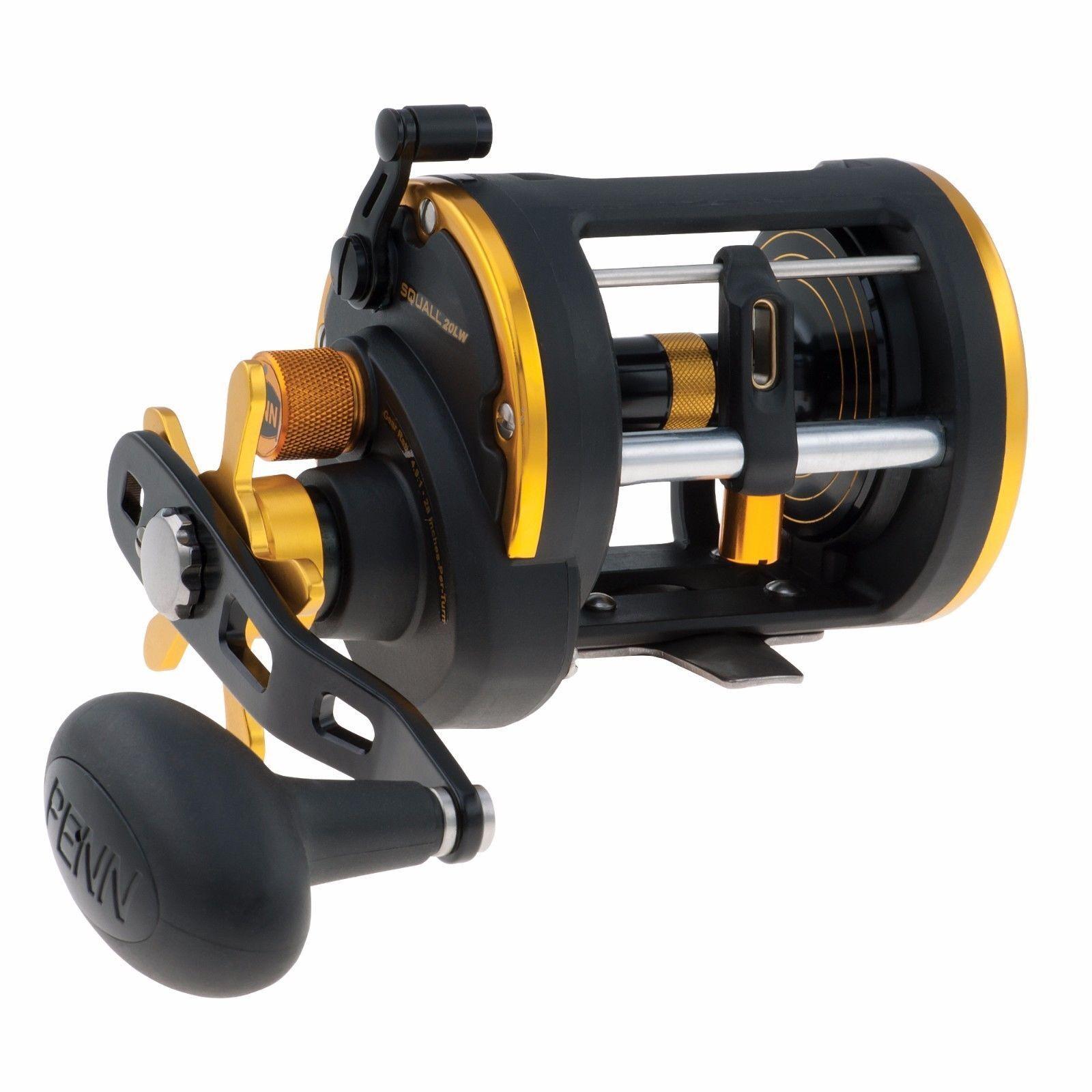 Penn Squall Level Wind Multiplier/Fishing Reels - All Models