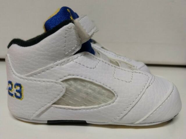 Buy Nike Air Jordan Retro V 5 Size 3 C 3c Laney Soft Sole Baby Shoe ... 71f6d2050f12