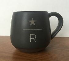 Starbucks Reserve 3 Oz Mini Mug Demi Cup Charcoal New 2016