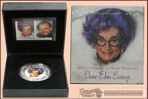 Perth Coloured $1 PNC 2006 Dame Edna Everage