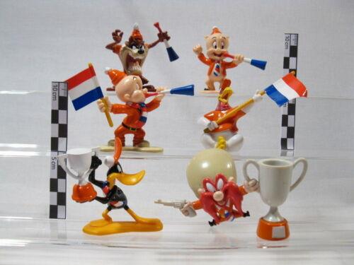 Bugs Bunny Comicfiguren Looney Tunes  6 Figuren  Fußball Fans  Oranje Team  60082