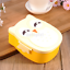 Durable Cartoon Owl Lunch Box Food Container Storage Box Portable Bento Box FR