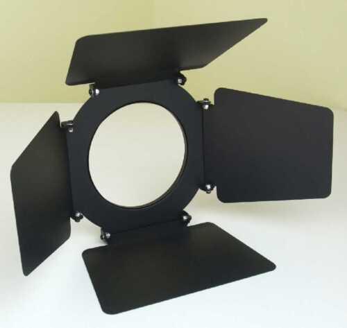 E27 Fassung Torblende Flügelbegrenzer 2x PAR-30 Spot-Scheinwerfer Schwarz incl