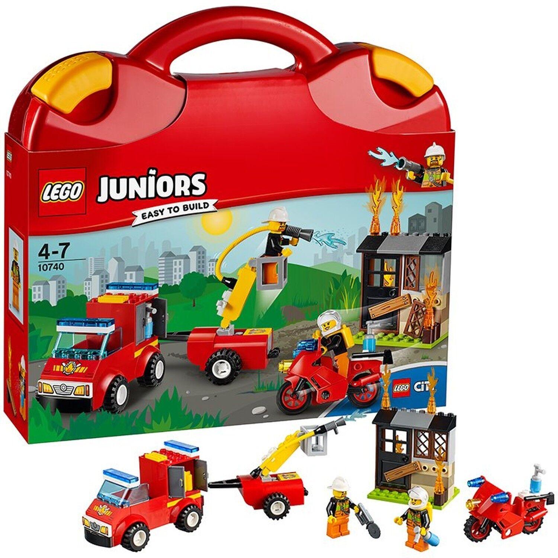 LEGO 10740 Fire Patrol Suitcase Building Set