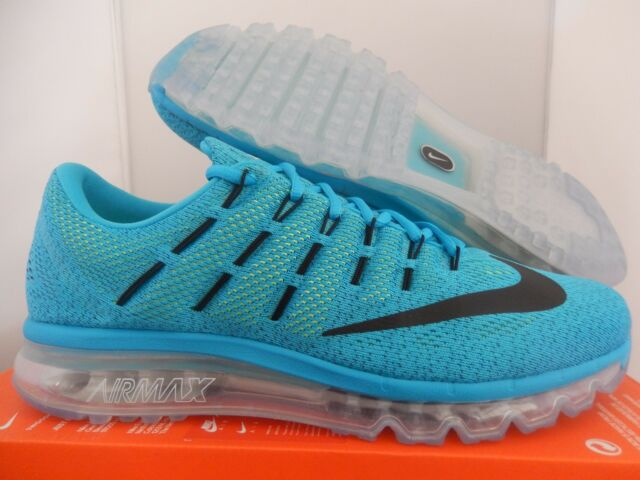 free shipping 0f8f0 13c74 MENS NIKE AIR MAX 2016 BLUE LAGOON-BLACK-BRAVE BLUE SZ 13  806771