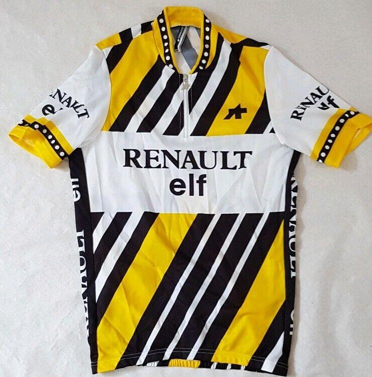 RENAULT Assos Heritage LTD Ciclismo in jersey uomoica corta Camicia Taglia XSMtutti