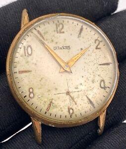 Duward-Main-Manuel-Vintage-34-9-mm-Pas-Fonctionne-pour-Pieces