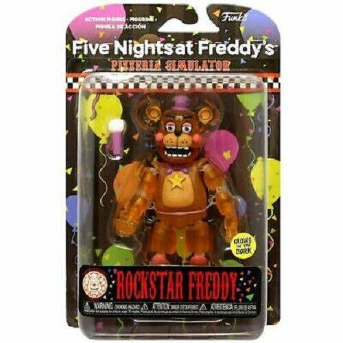 Rockstar Freddy-Nuovo di Zecca 5 NIGHTS AL FREDDY/'S PIZZA Simulatore Action Figure